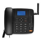 Telefone Celular Rural Fixo Multilaser Quadriband 3g Preto