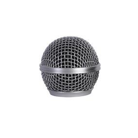 Globo Mxt Metalico P/ Microfone Sem Fio Prata !