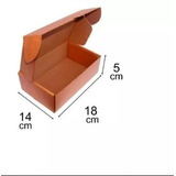 Caixa De Papelão, 250 Unidade - 14cm X18cm X5cm