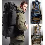 Mochila Táctica Militar Backpack 80 Litros Campismo +
