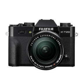 Cámara Fujifilm Xt20 Black + Lente Xf18-55mm (12814)