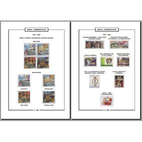 Álbum Selos Comemorativos Do Brasil 1981-1999 (pdf) Vol. 3