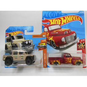 2018 Hot Wheels 1949 Ford F1 + 2015 Land Rover Defender Dc