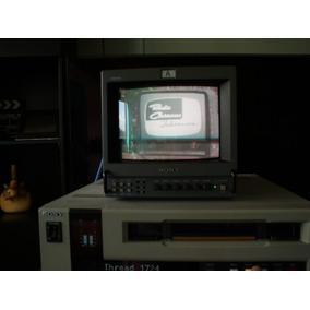 Monitor Sony Triniton Video Color, Usado Buenas Condiciones
