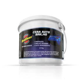 Cera De Carnaúba Cristalizadora Automotiva 2kg - Braclean