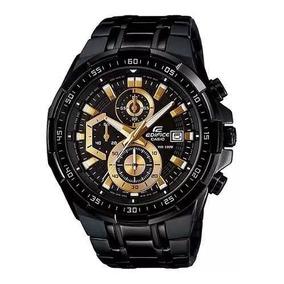 ce3602b6c25 Relógio Casio Edifice Efr 539 Black Original Completo - Relógios no ...