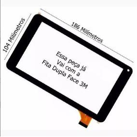 Tela Touch Vidro Tablet Foston Fs-787 Fs 787d M787d Intel