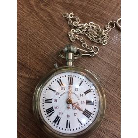 Relógio De Bolso Antigo Roskopf