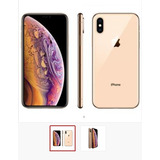 iPhone Xs 64gb Ouro Ios12 4g Câmera 12mp - Apple + Película