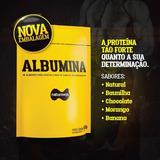 4x Albumina Naturovos 500g ,sabores Oferta Promoção Atacado