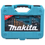 Kit Ferramentas Bits/brocas/chave/trena P-90336 Makita 74pç
