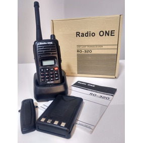 Radio One Ro-320 Vhf/uhf Transceiver Novo