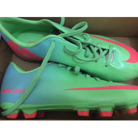 cf360ec69 Botines De Futbol 5 Nikes 2016 - Botines Azul en Mercado Libre Argentina