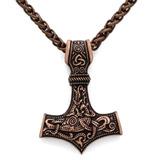 Ttkp El Martillo De Odin Thor Mjolnir Colgante Viking