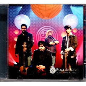 cd rosa de saron acustico e ao vivo 2009