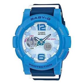 6cf65c736f1 Relogio Casio Baby G Bg 180 2v Com Nota Fiscal E Garantia - Relógios ...