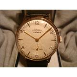 Precioso Reloj Delbana 1952 Oro Plaque18k Impecable! Unico!!