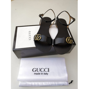 Chanclas Sandalias Gucci Dama Mujer Moda Envio Gratis