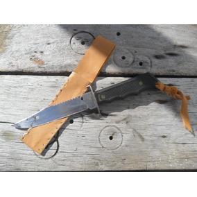 Antiga Faca Tipo Escoteiro-aço Inox - Anos 70