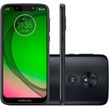 Moto G7 Play Indigo Garantia Ate 11/03/2020 A Vista Faco 700