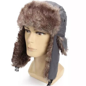 Touca Russa Adulto Aviador Inverno Unissex Gorro Frio Tra1 d7feb6d5532