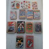 Lote Cromy 10 Mazos Completos, Cartas, Coleccion Ver Fotos