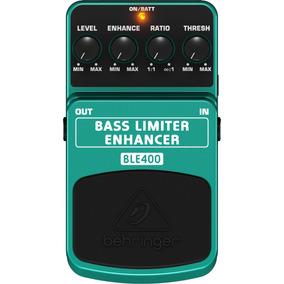 Pedal Behringer Ble400 Bass Limiter Enhancer