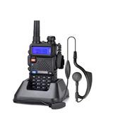 Rádio Comunicador Walk Talk Talkabout Dual Band + Fone Uv5r