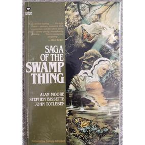 Saga Of The Swamp Thing - Raro (warner Books)