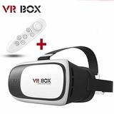 Lentes Realidad Virtual Cardboard 3d + Control Bt