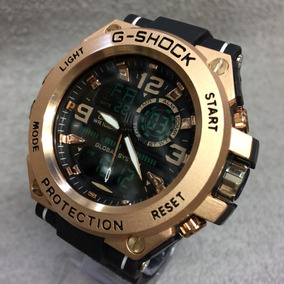 Relógios Masculino Gchok Cabeça De Metal Resistente Água