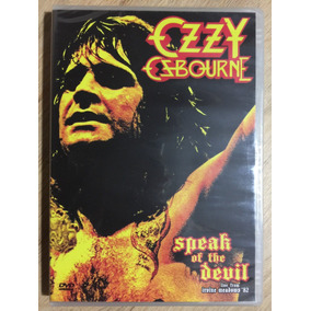 Dvd Ozzy Osbourne Speak Of The Devil - 1ª Edição Remaster!!!