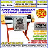 Plotter Corte +contorn Grabad Corel Ilustrator 125cm Moritzu