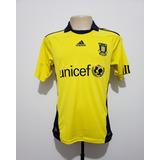 Camisa Futebol Oficial Brondby Dinamarca 2010 Home adidas P b959a2ecd0bb8