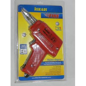 Pistola De Soldar Hikari Fire 100 45w 127v Semi-novo