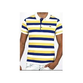 Camisa Polo Lacoste Amarela Tamanho - Pólos Manga Curta Masculinas ... 26691dc237e73