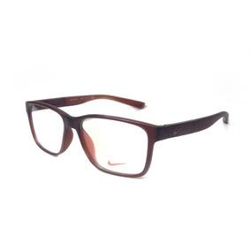 7aec6e49a0211 Armação Oculos De Grau Masculino Original Nike7093 Acetato
