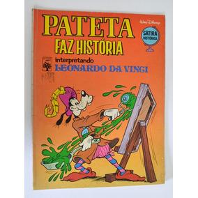 Hq Pateta Faz História Leonardo Da Vinci