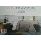 Cobertor Reversible Queen Size Members, Nuevo, Original