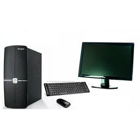 Siragon Pc1500/i3-3220/4gb/500gb/w10 + Monitor 18.5
