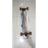 Skate Longboard Mormaii Fs - Laranja E Cinza
