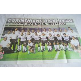 Poster Do Corinthians Bicampeão Da Copa Do Brasil 2002