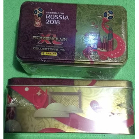 2 Latas Made In Italy Panini Cards Adrenalyn Copa 2018 Limit