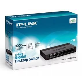 Switch Tl-sg1005d Tp-link 5 Puertos Gigabit - Negociable