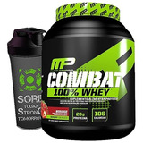 100% Whey Protein Combat 1.8kg - Musclepharm - Isolado + Wpc