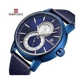Reloj Naviforce 3005 Elegante Especial Hombre + Caja