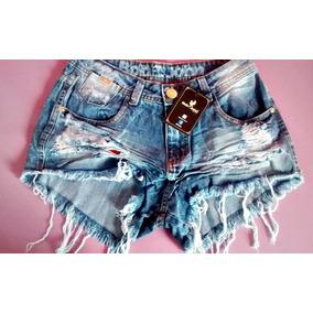 8018b11fc Shorts Feminino Bob John Jeans - Shorts no Mercado Livre Brasil