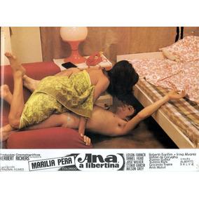 Dois Cartazes Do Filme Ana A Libertina Originais