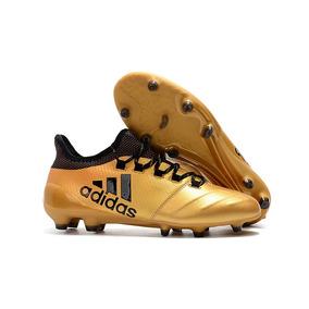 f8d5e7393d Chuteira Adidas Dourada - Chuteiras Adidas no Mercado Livre Brasil