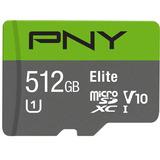 Pny Élite 512 Gb Microsdxc Tarjeta , Arriba A 90 Mb / S ? (